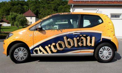 Fahrzeugbeschriftung: Vollverklebung