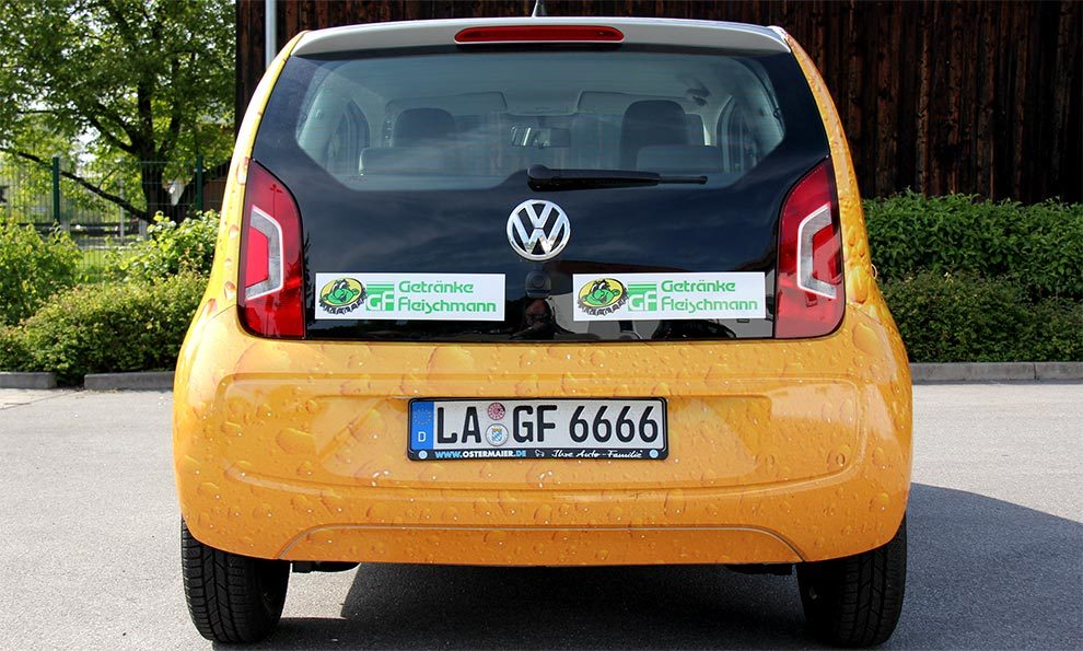 Fahrzeugbeschriftung in Deggendorf