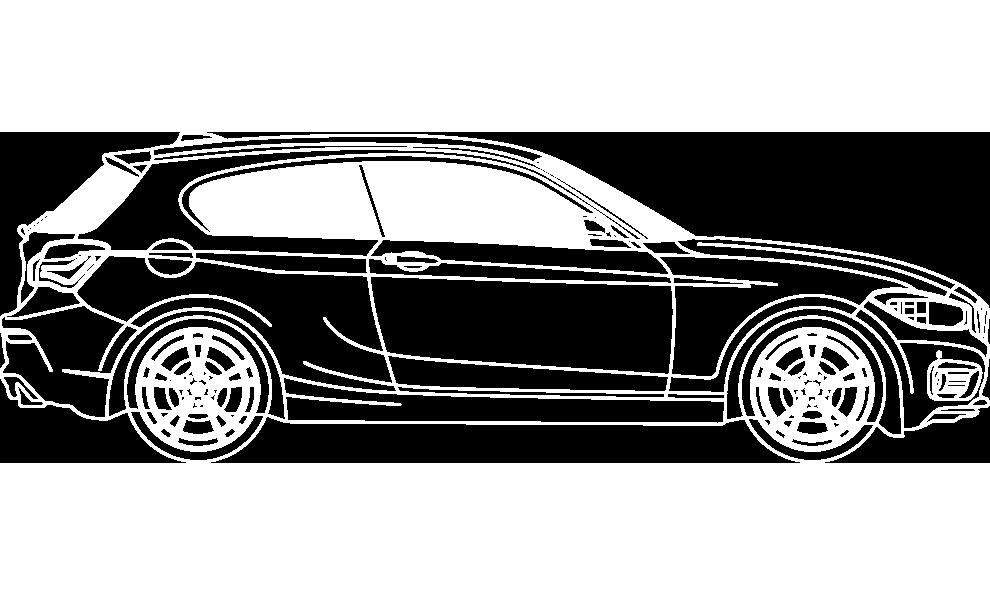 BMW 1er bei signus Werbetechnik