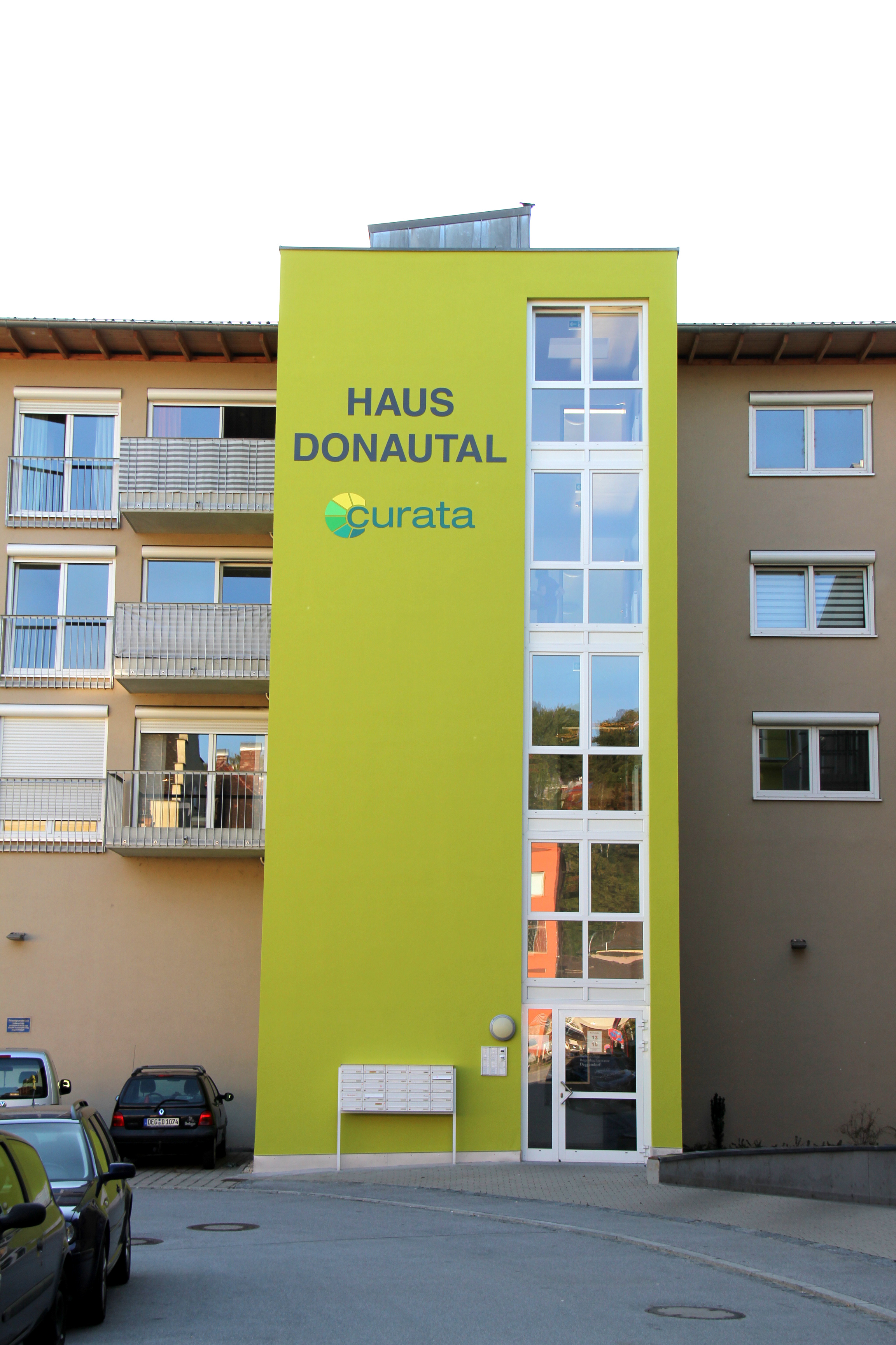 Haus Donautal Front